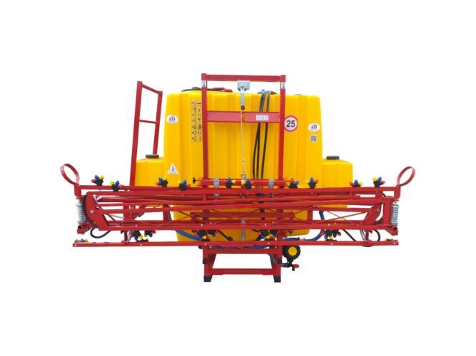 Függesztett szántóföldi permetezőgép 1000 l / 12 m